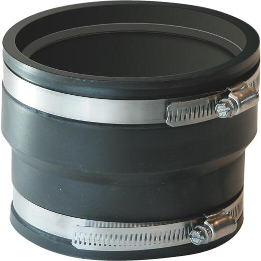 Fernco 4 In. PVC Corrugated Adapter
