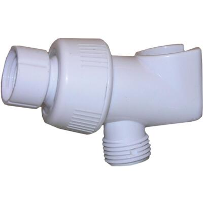 Lasco White Plastic Personal Shower Bracket