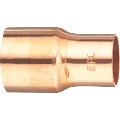 Mueller Streamline 1-1/4 In. X 1 In. Copper Coupling with Stop