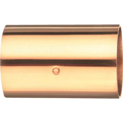 Mueller Streamline 2 In. x 2 In. Copper Coupling with Stop