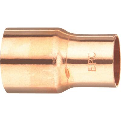 Mueller Streamline 1/2 In. x 1/4 In. Copper Coupling with Stop