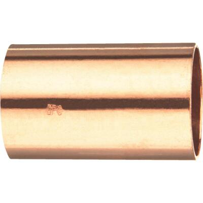 Mueller Streamline 1-1/2 In. x 1-1/2 In. Copper Coupling without Stop