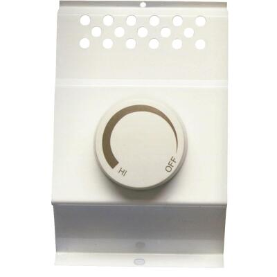 Cadet Almond Double Cadet BFT2 Electric Baseboard Heater Thermostat