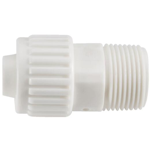 Flair-It 3/4 In. x 3/4 In. Poly Alloy Male Pipe Thread Adapter