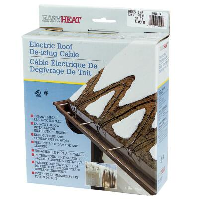 Easy Heat 20 Ft. 120V 5W De-Icing Roof Cable