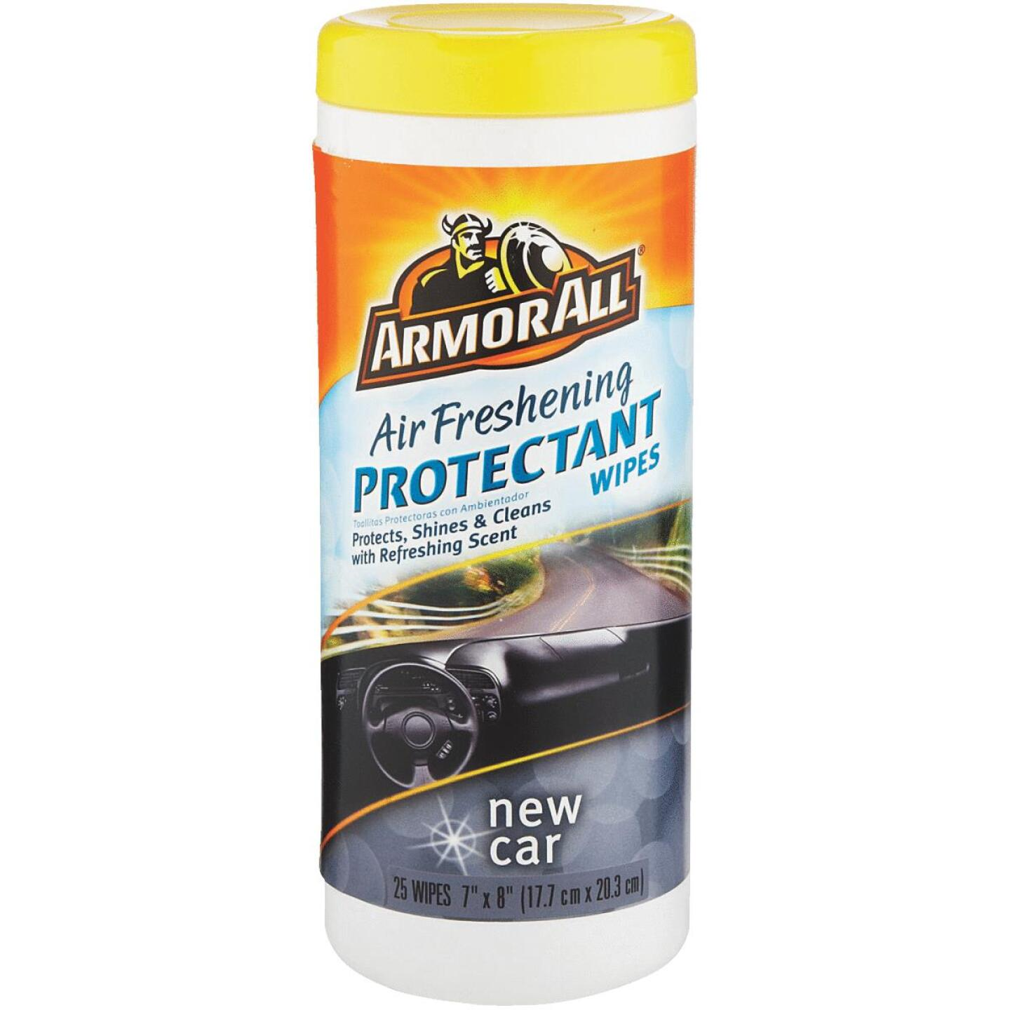 Armor New Car Scent Wipe Protectant Wipe Image 1