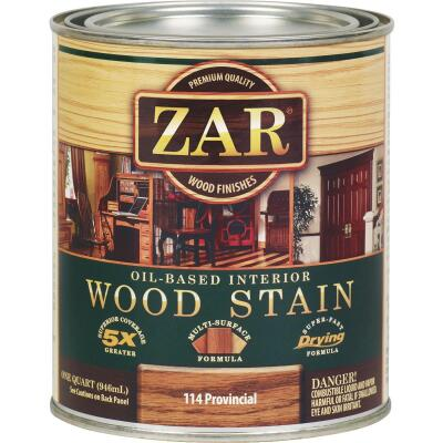 ZAR Oil-Based Wood Stain, Provincial, 1 Qt.