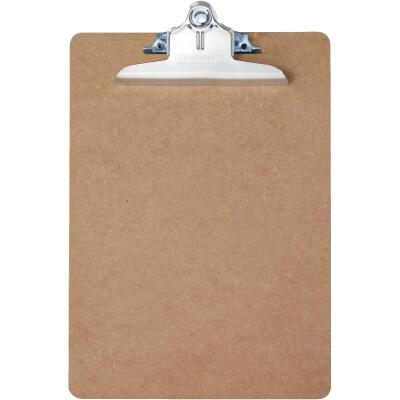 Saunders Letter Size 100% Recycled Hardboard 1 In. Clipboard