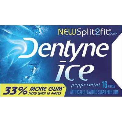 Dentyne Ice Peppermint Chewing Gum (16-Piece)
